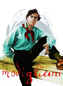 Portrait of Amedeo Modigliani 2.