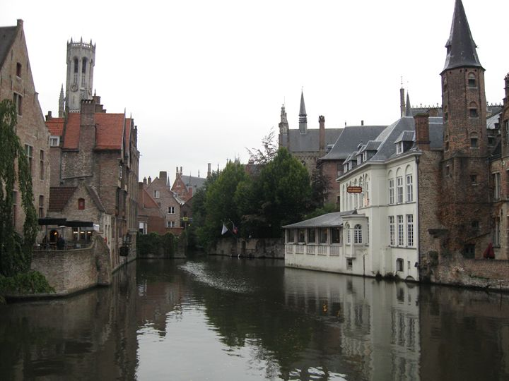 Bruges view 2 - Alexandra Luiza Dahl