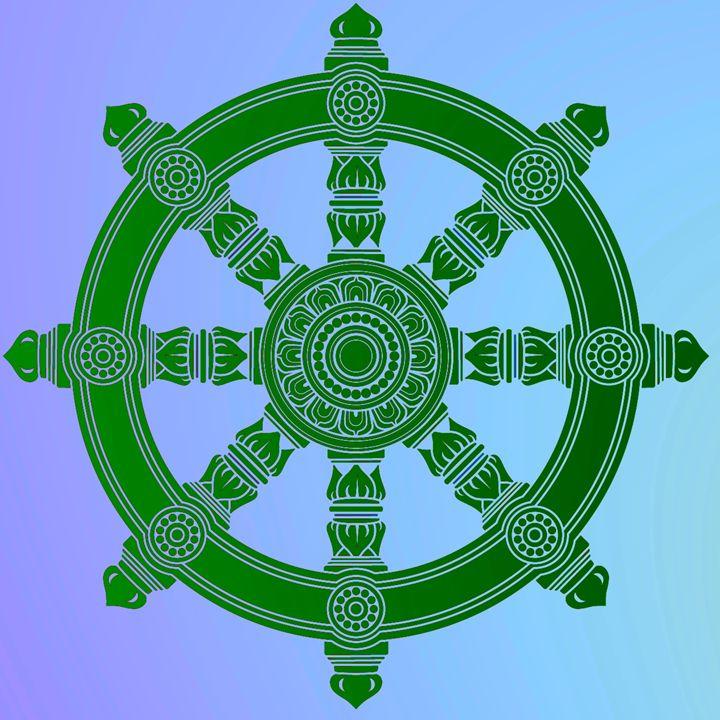 The Dharma Wheel (Dharmachakra) 1. - Alexandra Luiza Dahl