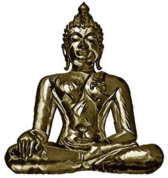 Buddha 10. - Alexandra Luiza Dahl