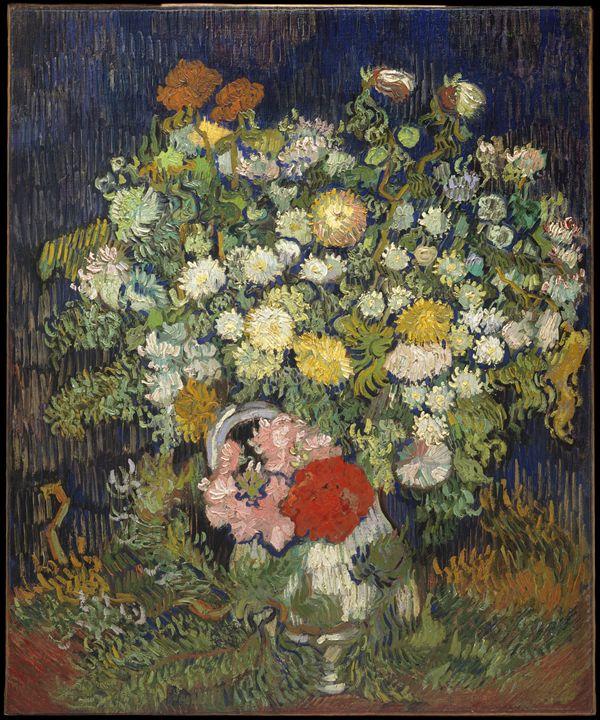 "Vincent van Gogh ""Flowers in a Vase"" - Alexandra Luiza Dahl"