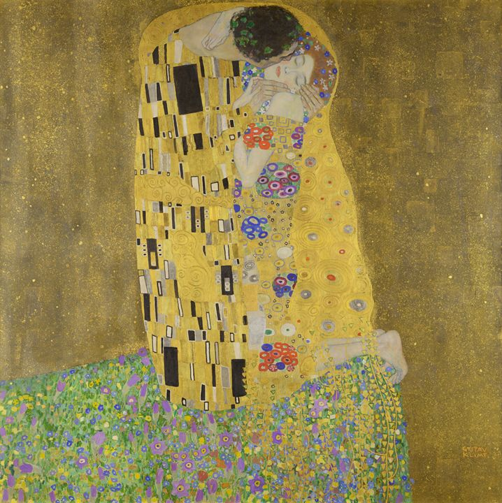 The Kiss (Lovers) Klimt - Alexandra Luiza Dahl