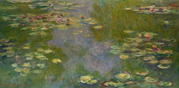"""Monet """"Water Lilies"""" - Alexandra Luiza Dahl"""
