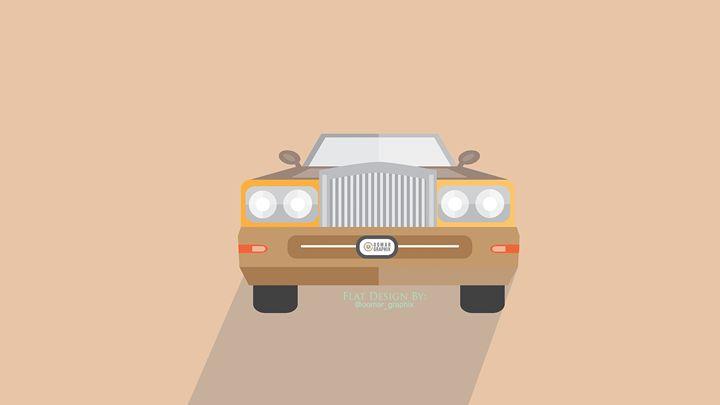 Car Flat design -  Oomargraphix