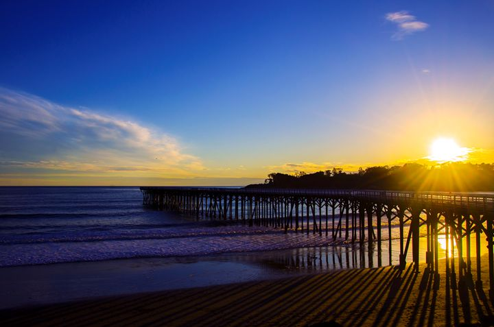 Sunset Pier - J.A.G. Photography