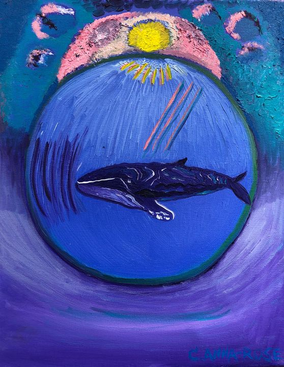 Forgiveness Whale - Beah Creative Art