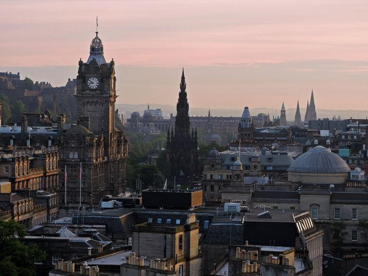 View from Calton Hill 01 - William Slider