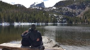 Alpine Lake Romance
