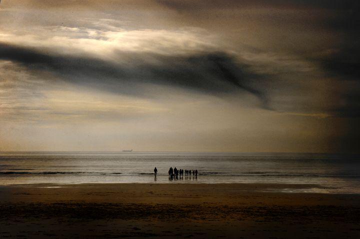 Winter Beach - Steve Ball