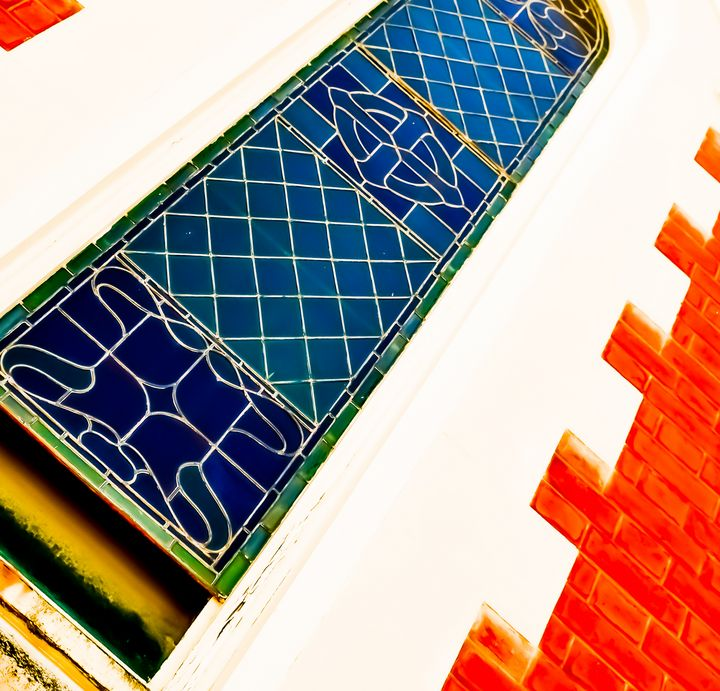 Stained Glass Church Window - J & A Photography