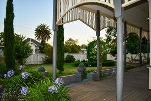 Country Porch and Garden