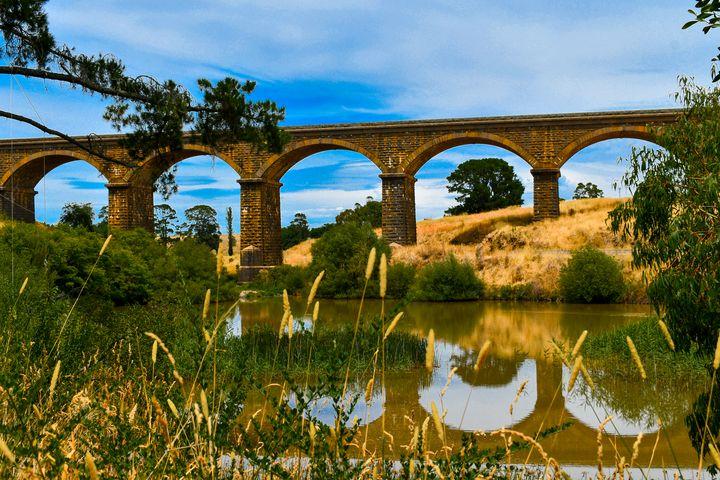 Country Rail Bridge - J & A Photography