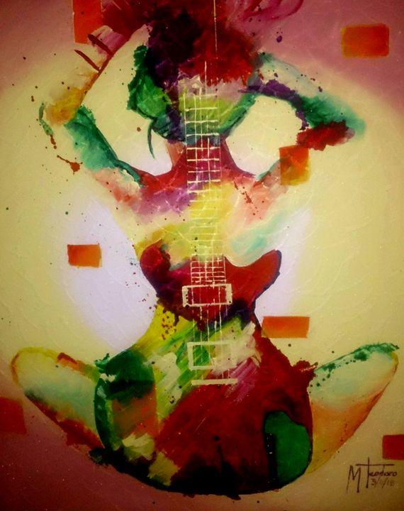 Guitar lady - Yabhieartgallery