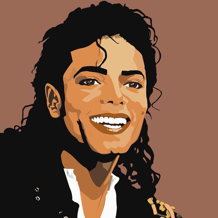 Michael Jackson (Vector Image) - Ellustration