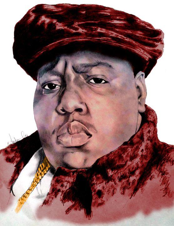 Notorious B.I.G. (color) - Ellustration