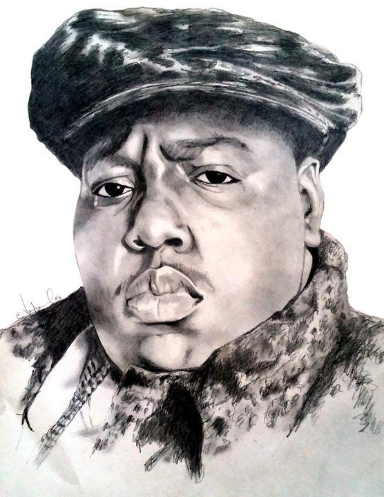 Notorious B.I.G - Ellustration