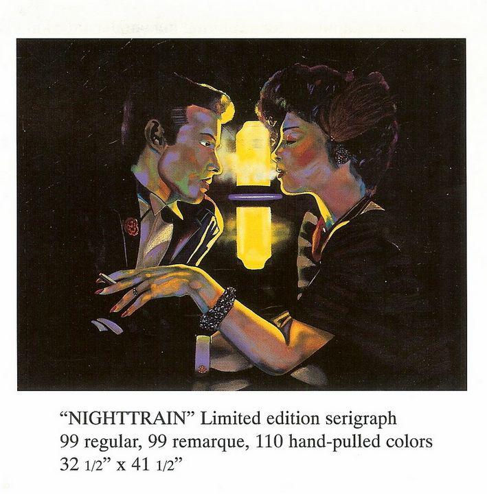 NIGHTTRAIN - lithorgaphs