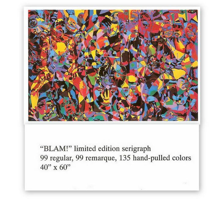 BLAM - Wall hanging