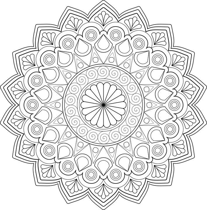 Mandala Designs - Melangé Arts