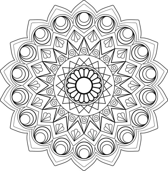 Mandala Design - Melangé Arts