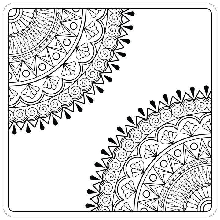Mandala Art - Melangé Arts