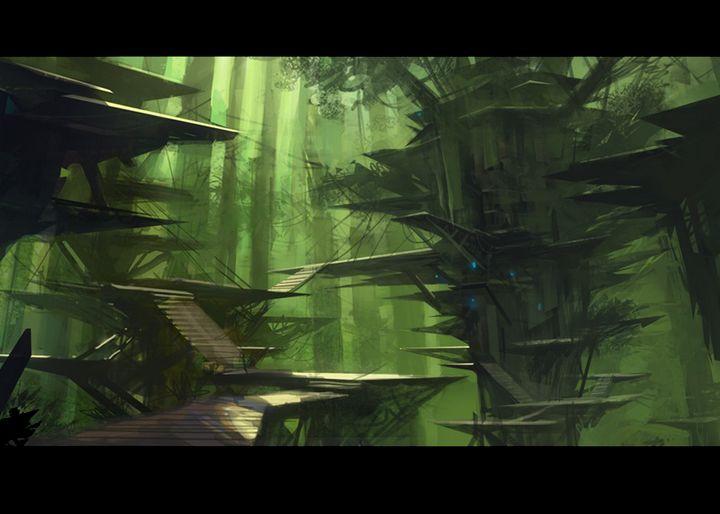 Spaceweed Forest - zach3/4