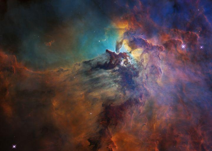 Lagoon Nebula - ZeeGee Studios