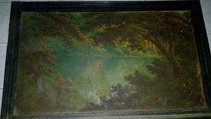 Indonesian Old Painting