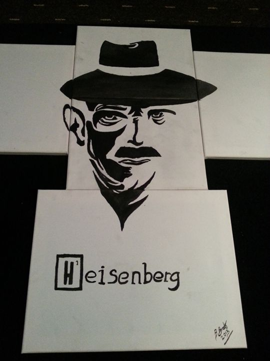 heisenberg - Bernard Time Art