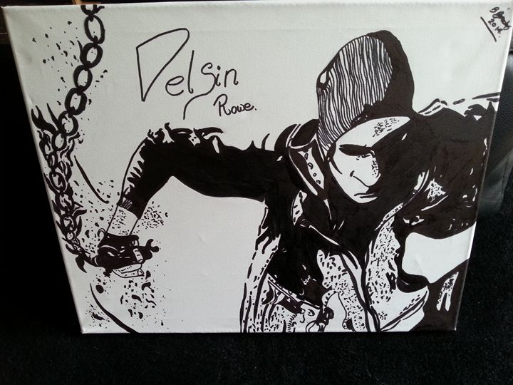 Infamous second son delsin rowe smok - Bernard Time Art