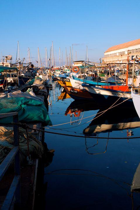 old fishermen's port in Old Jaffa - PhotoStock-Israel