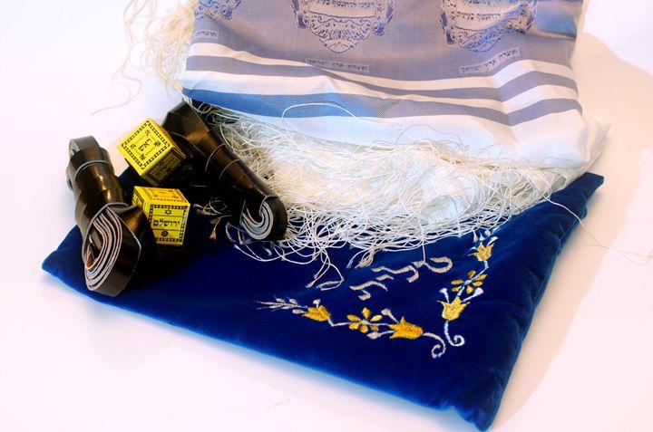 Tifillin and tfillin bag - PhotoStock-Israel