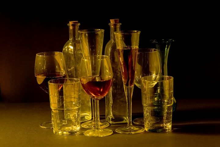 cocktail and wine glasses - PhotoStock-Israel