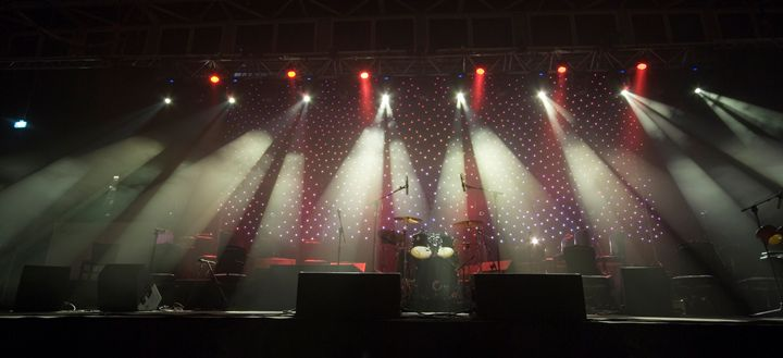 Coloured stage lights - PhotoStock-Israel