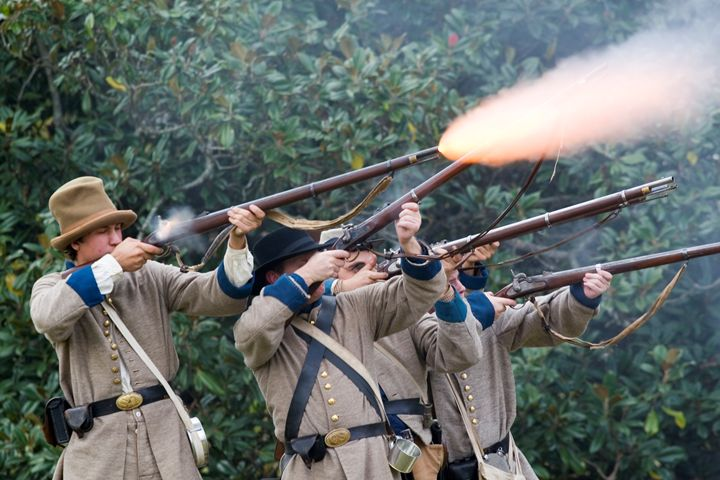 Civil War Weekend, Arkansas, USA - PhotoStock-Israel