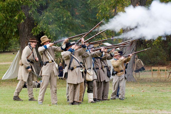 Civil War Weekend, Arkansas, USA - PhotoStock-Israel