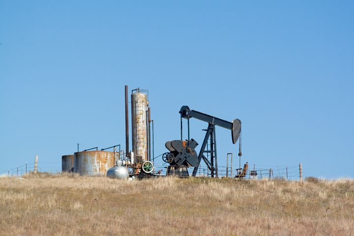 Oil well Osage Indian reservation, O - PhotoStock-Israel