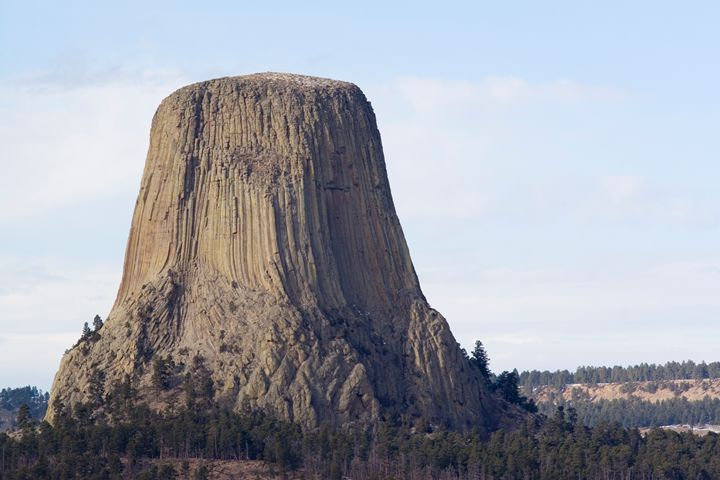 Devil's Tower Wyoming WY USA - PhotoStock-Israel