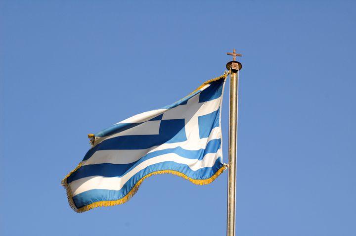 Greek flag - PhotoStock-Israel