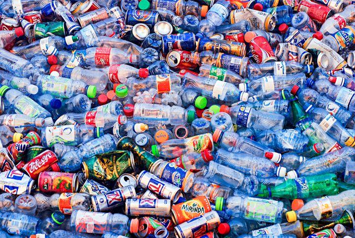 Plastic bottle recycling bin - PhotoStock-Israel