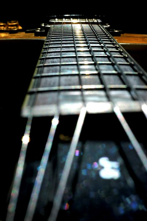 Guitar Abstract close up - PhotoStock-Israel