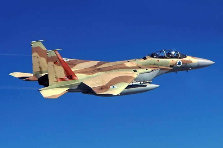 Israeli Air force Fighter jet F15I i - PhotoStock-Israel