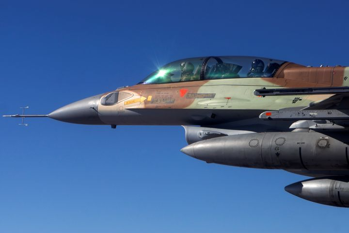 IAF F-16 Fighter jet - PhotoStock-Israel