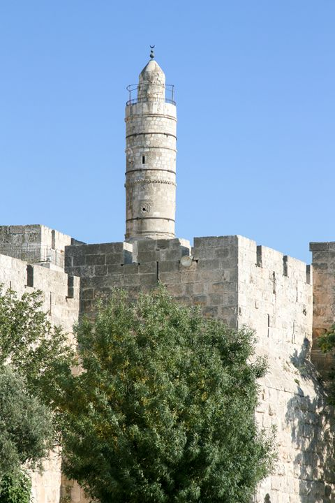 Israel, Jerusalem, The tower of Davi - PhotoStock-Israel