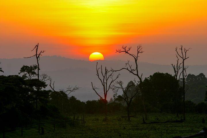Kenya Sun set - PhotoStock-Israel