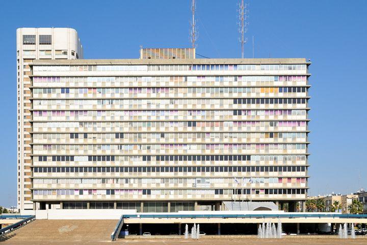 Tel Aviv, city hall, Yitzhak Rabin s - PhotoStock-Israel