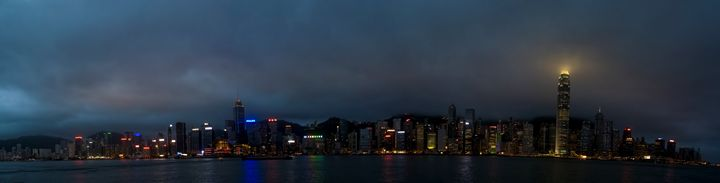 Panorama of Hong Kong, China - PhotoStock-Israel