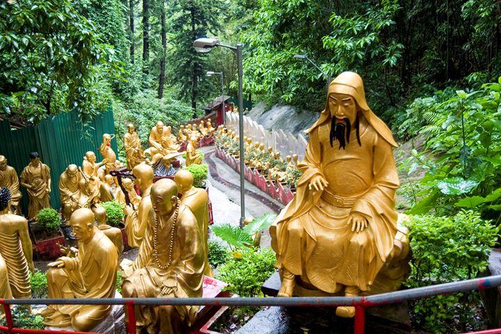 China, Hong Kong, temple of 10,000 B - PhotoStock-Israel