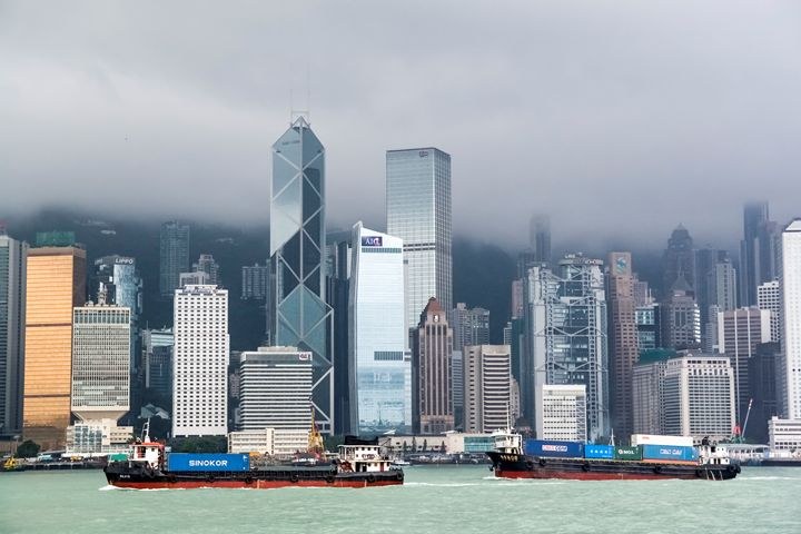 China, Hong Kong from the ferry - PhotoStock-Israel