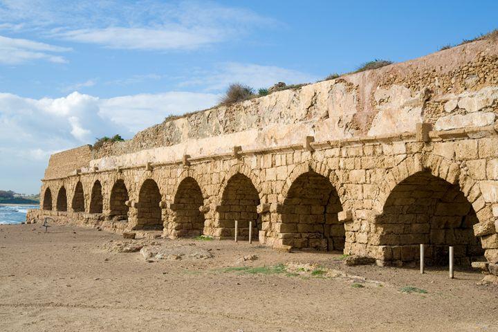 Roman Aqueduct, Israel - PhotoStock-Israel